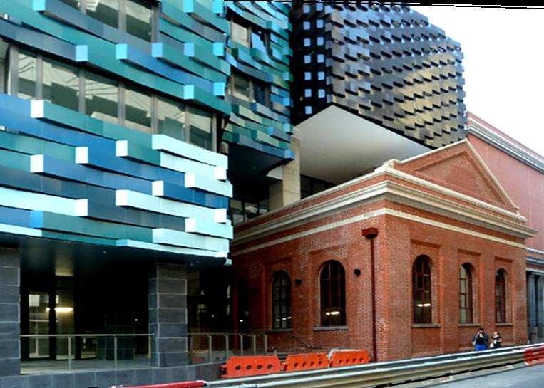 straatbeeld in Melbourne. foto: Rob Schram