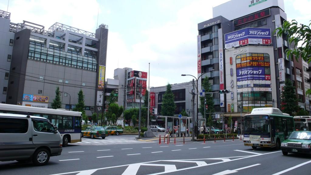 Nakano station square, Tokyo