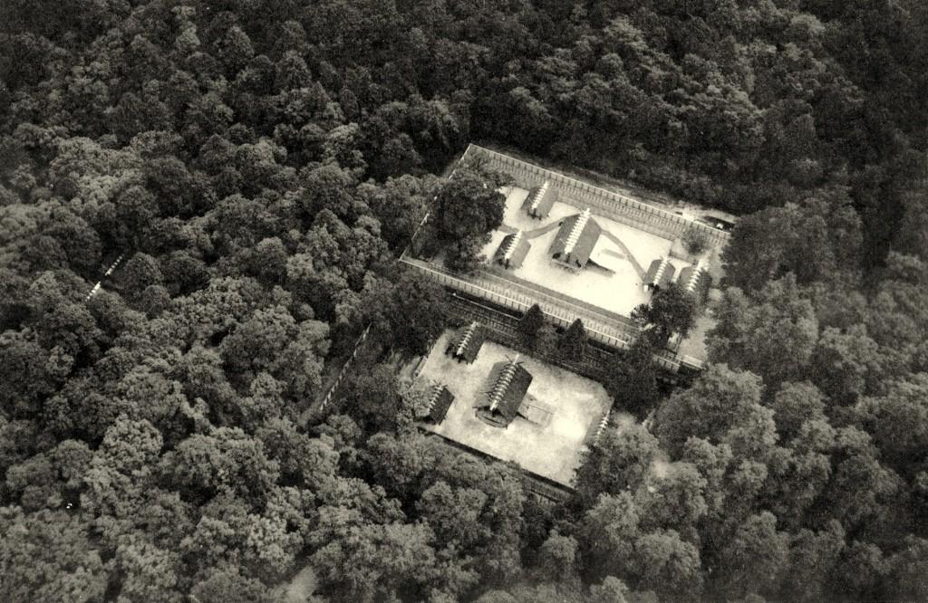 Ise tempel, Naiku, 1953. Foto: 本田照夫