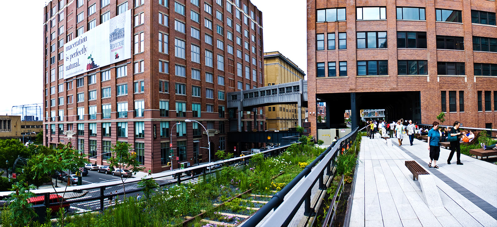 De High Line in New York. Foto: Gbarill/Wikimedia Commons