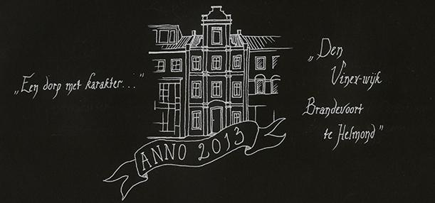 'Brandevoort Anno 2013', illustratie Michelle Gulickx