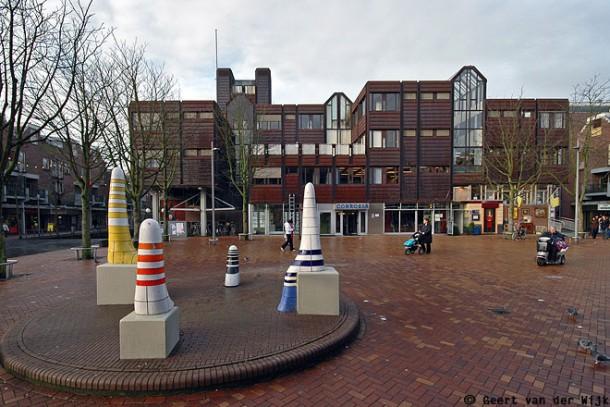 Gebouw Corrosia in Almere Haven. foto: Geert van der Wijk