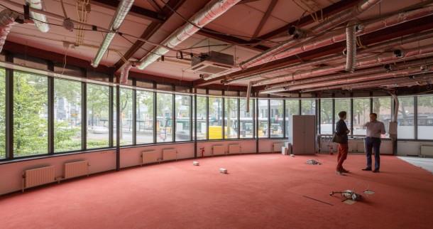 begane grond van het Erasmushuis. foto: Ossip van Duivenbode