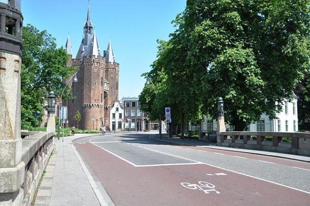 Sassenpoort Zwolle. foto: onderwijsgek