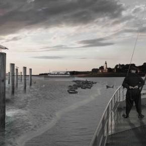 Een gat in de Afsluitdijk