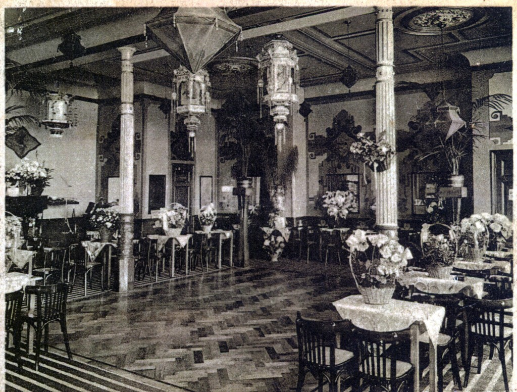 Voormalig interieur van het 'verhalenhuis'