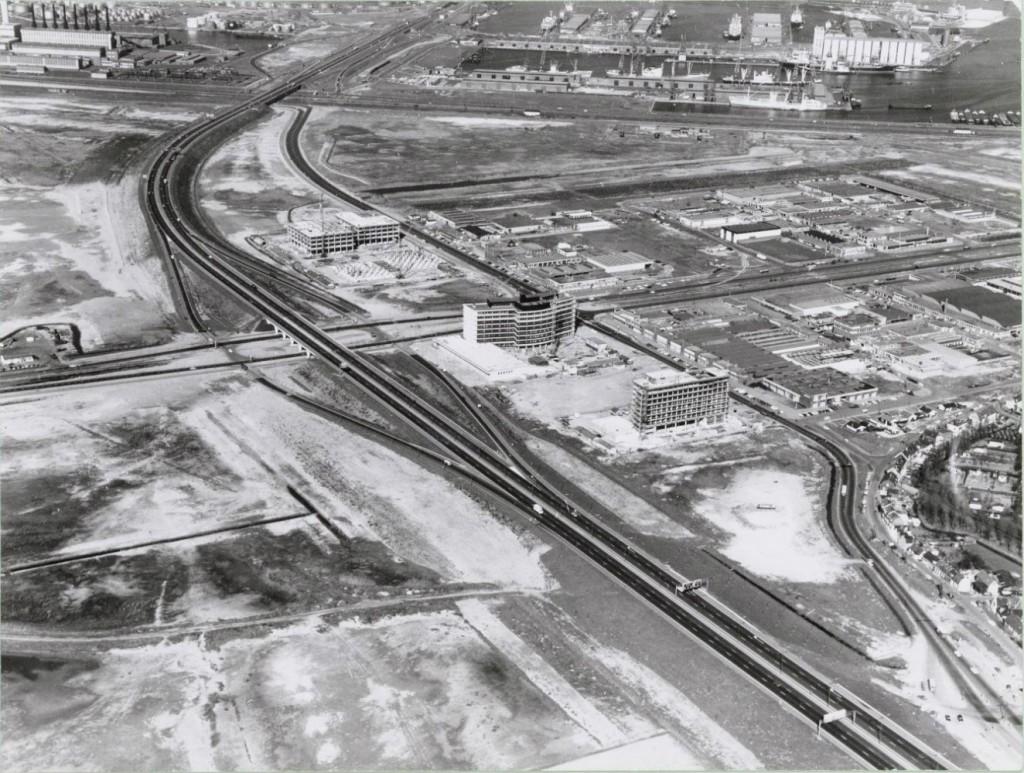 Luchtfoto uit 1968, Einsteinweg