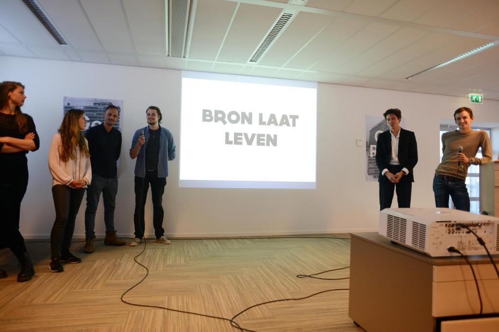 Presentatie van team 'Bron'