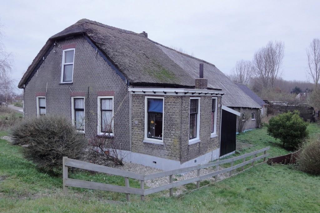 Boerderij aan de Bergse Linker Rottekade 451 in 2009. foto Frits van Ooststroom, Stad en Streek Cultuurhistorie