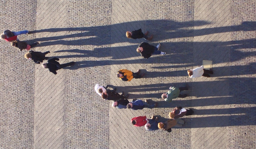 Vanaf Nieuwe kerk in Delft. foto: Steven Lek.