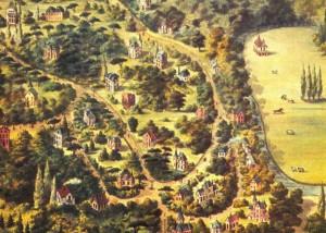 Villapark Bloemendaal. Afbeelding via historischeinterieursamsterdam