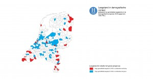 kaart III: leegstand in demografische context