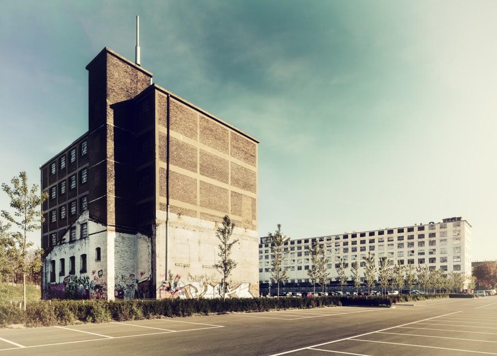 Omgeving Sphinxfabriek. foto: Fred Berghmans