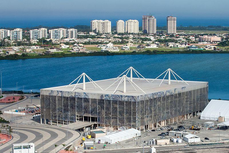 Olympic Aqua stadium (Estadio Aquatico Olympico)