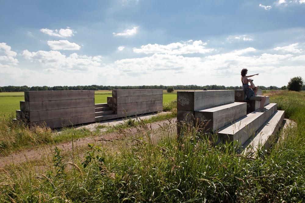 Landschapspark Drentsche Aa, Belvedere (Strootman Landscape Architecture)