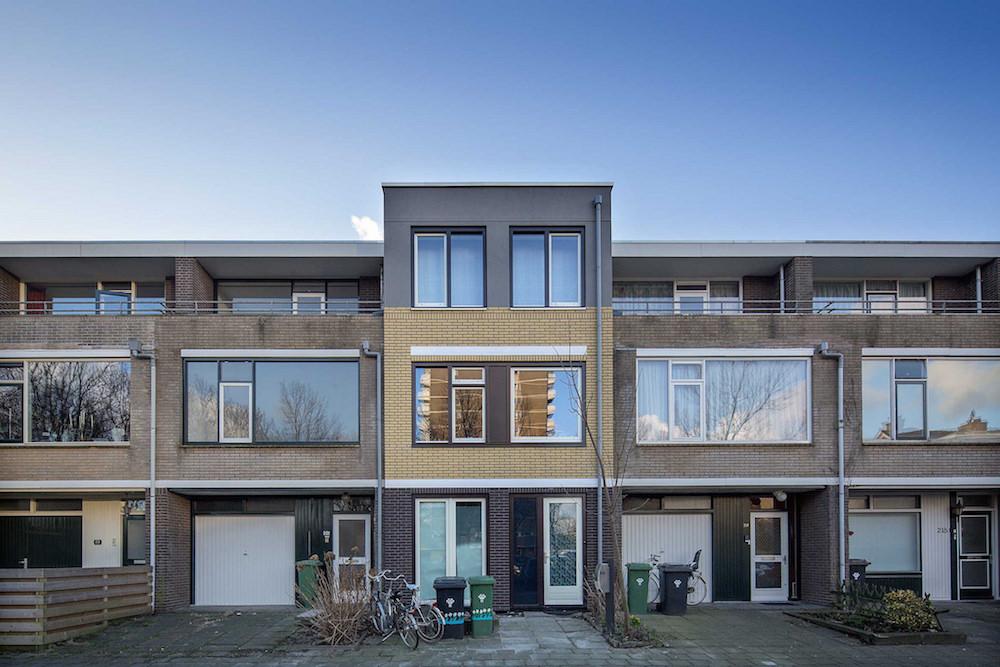 Een verbouwing naar een Nul op de Meter-woning in Zoetermeer. Foto: Frank Hanswijk, voor: Stroomversnelling