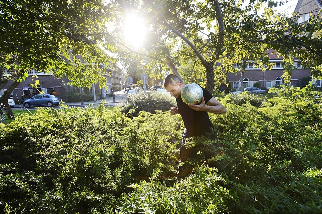 Straatvoetbal als erfgoed? Foto: Guus Dubbelman-Imagine IC