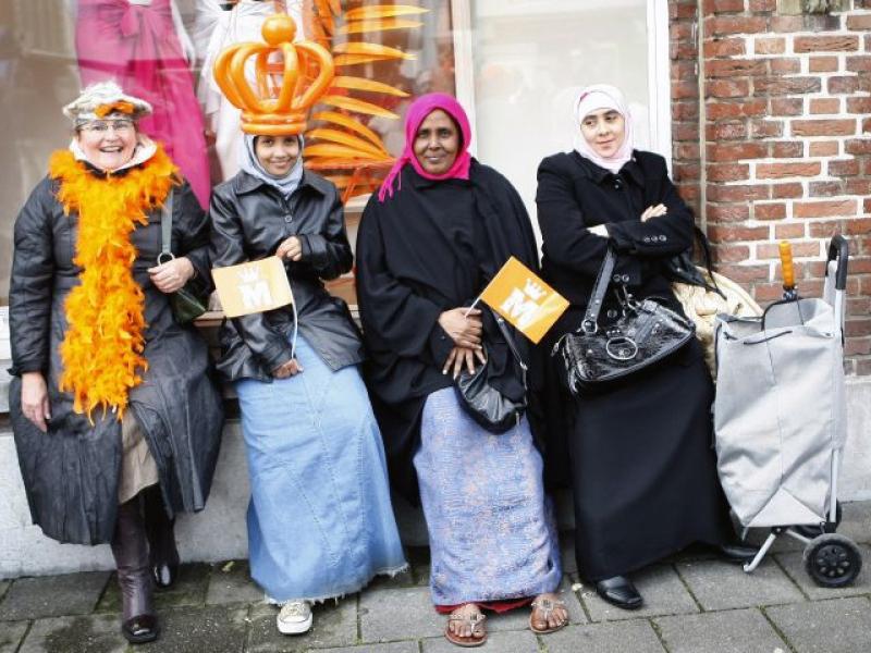 Op zoek naar de nieuwe Nederlander in het erfgoed. foto: © ANP