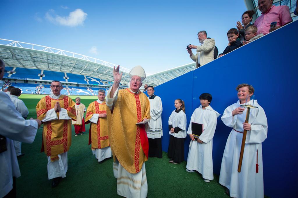 Viering van de 'golden jubilee' van de Diocese van Arundel en Brighton